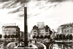 Обелиск на площади Восстания