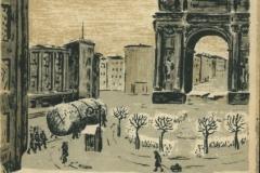 Открытка периода Великой Отечественной войны в собрании Государственного музея городской скульптуры. Илл.1