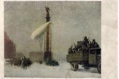 Открытка периода Великой Отечественной войны в собрании Государственного музея городской скульптуры. Илл27
